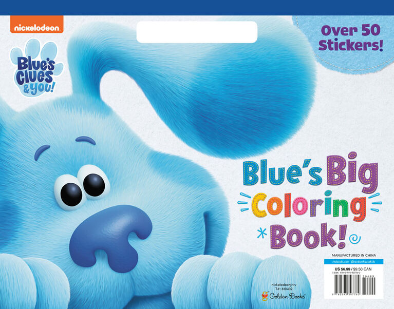 Blue's Big Coloring Book (Blue's Clues & You) - English Edition