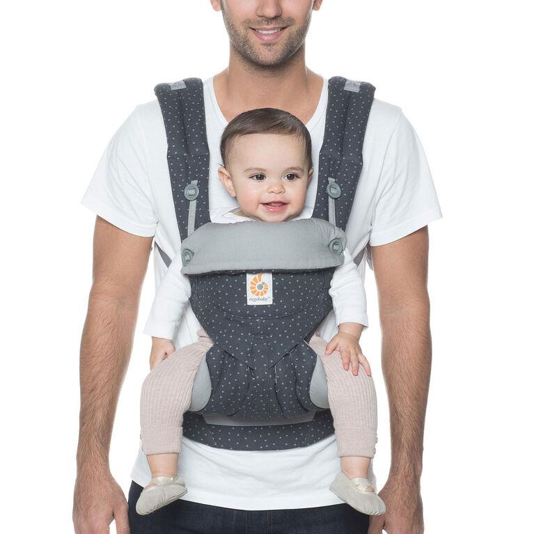 Porte-bébé à positions multiples ergonomique Ergobaby 360 - ciel étoilé.