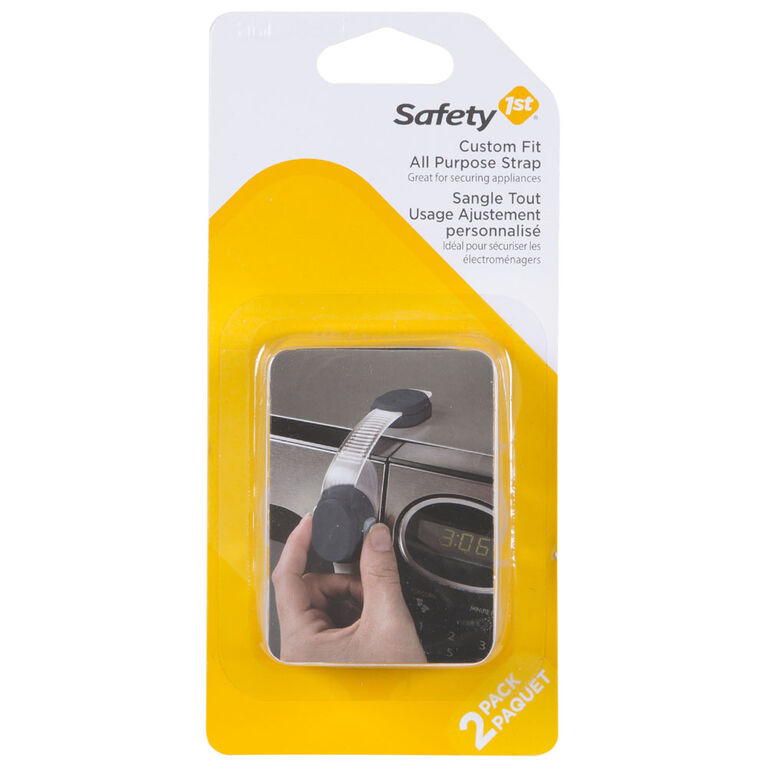 Safety 1st sangle tout usage ajustable sur mesure paquet de 2.