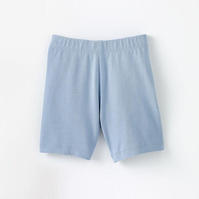 18-24m shorts extensibles - bleu pâle