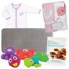 Baby it's bath time Pink bundle