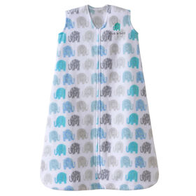 HALO SleepSack wearable blanket - Textured Elephant - Micro-fleece - Large