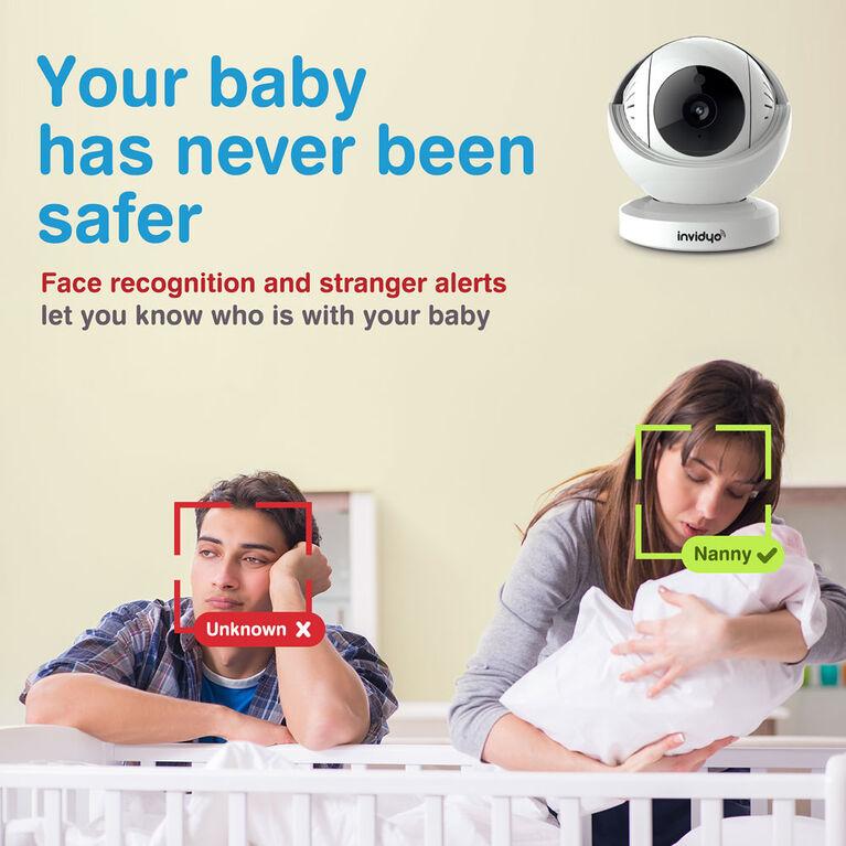 Moniteur vidéo pour bébé de Invidyo.