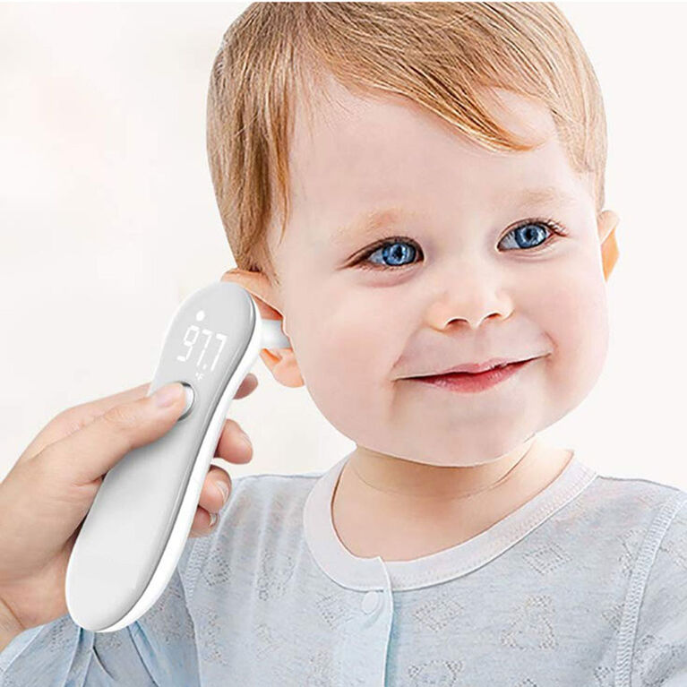 wellworks Infrared Forehead & Ear Thermometer
