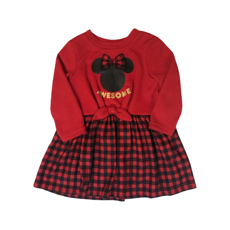 Disney Minnie Mouse Dress - Red, 9 Months