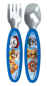 Playtex Paw Patrol Fork & Spoon Cutlery Set - Blue