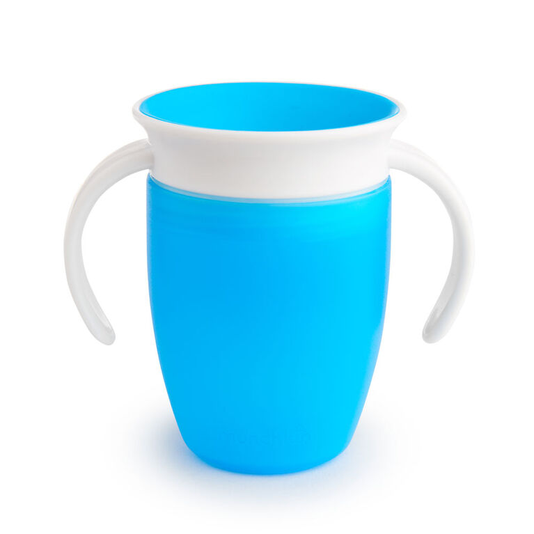Munchkin – Tasse d'apprentissage Miracle 360° - bleu.
