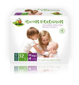 Bio Babby Eco Diapers - MAXI (6 x 32 ea)