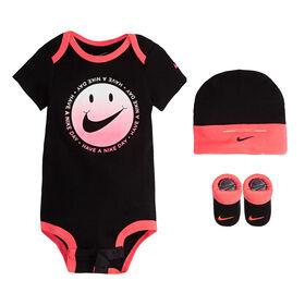 Nike ensemble cache couches - Noir, 0-6 mois.