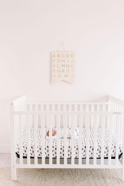 Copper Pearl Wild Premium Crib Sheet