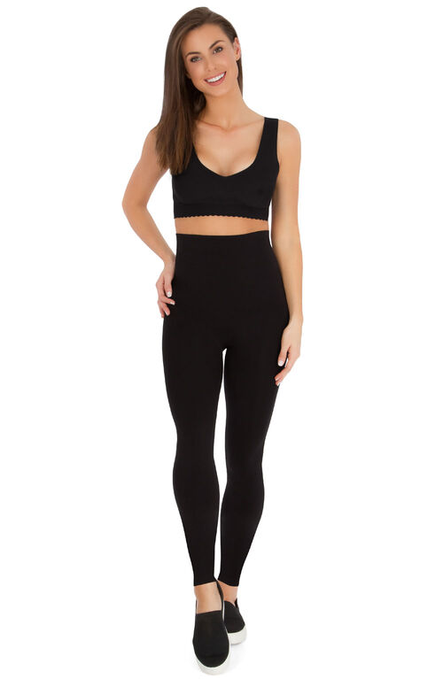 Belly Bandit Mother Tucker Leggings - Black, Extra Small