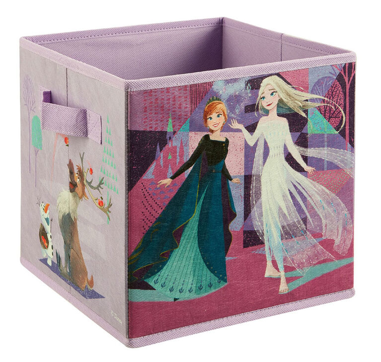 "9"" Soft Storage Bin- Frozen Ii"