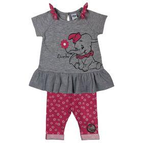 Disney Dumbo 2-Piece Tunic and Capri Set - Pink, 12 Months