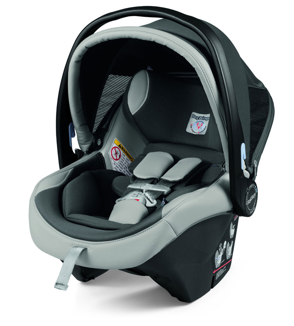 Eco Leather Ice Peg Perego Primo Viaggio Nido 4//35 Infant Car Seat
