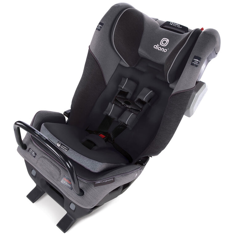 Radian 3Qxt Latch All-In-One Convertible Car Seat - Grey Slate