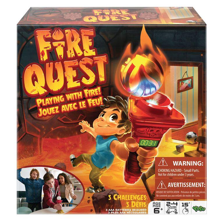 Jeu Fire Quest.