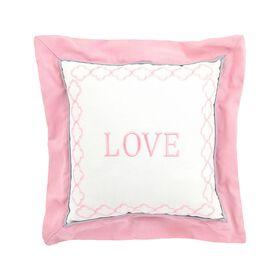 Just Born Dream Love Throw Pillow - Pink