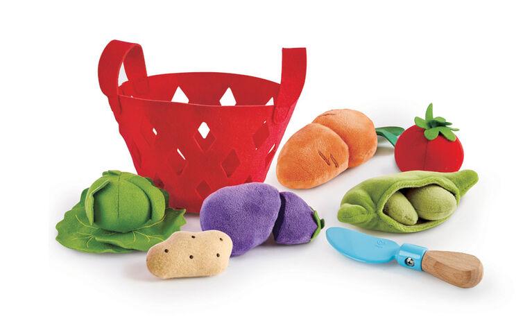 Hape Toddler Vegetable Basket - English Edition