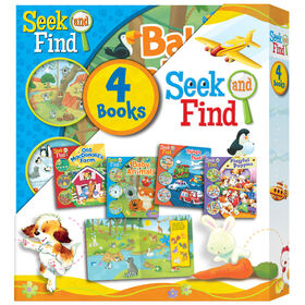 Seek And Find 4 Book Slipcase - English Edition