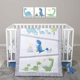 Sammy And Lou Dinosaur Pals 4 Pc Cribset