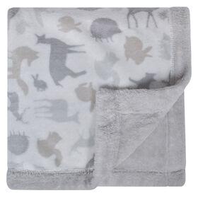 Perlimpinpin Plush Blanket - Animals