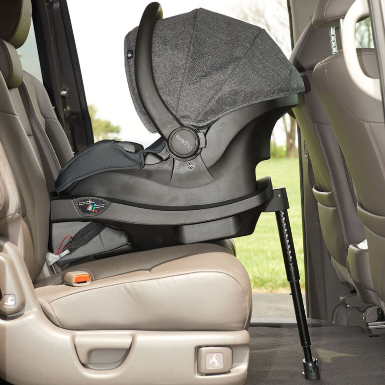 Base de siège d'auto pour bébé LiteMax DLX Evenflo.