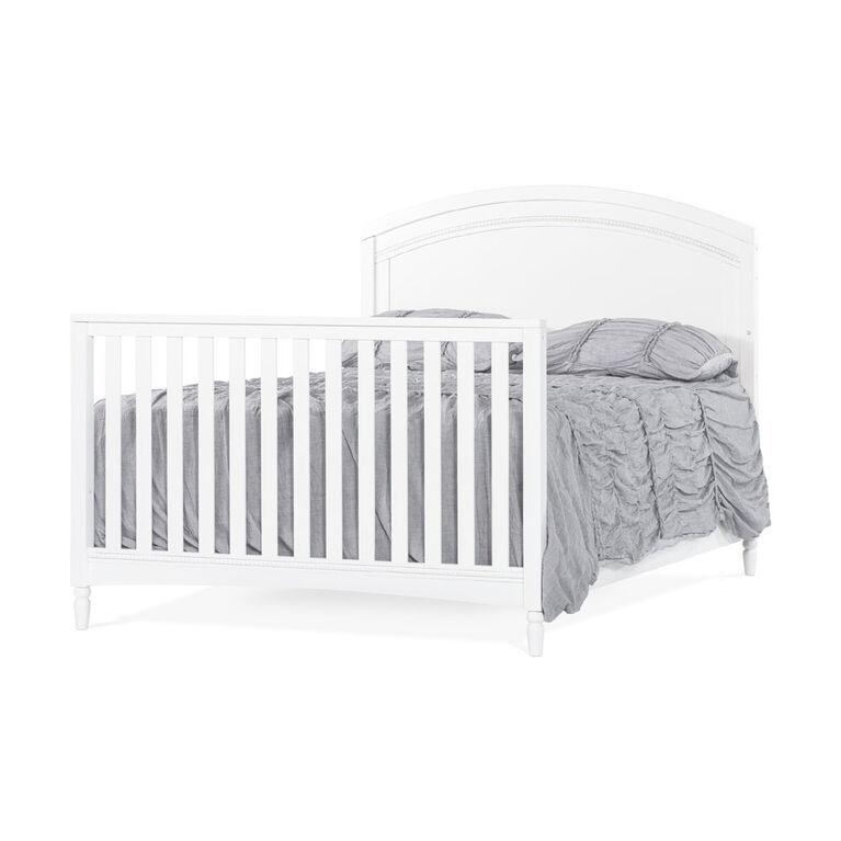 Child Craft Stella 4-in-1 Convertible Crib, Matte White