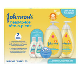Johnsons Baby Head to Toe Gift Pack