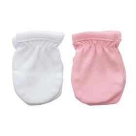 Koala Baby 2-Pack Scratch Mittens - Pink