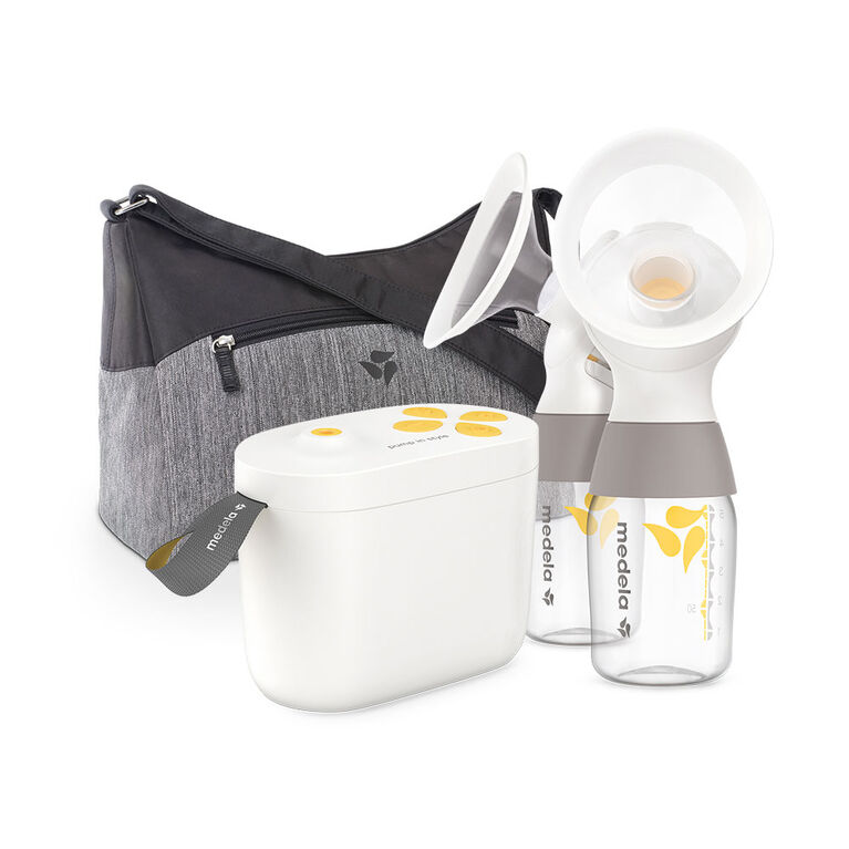 Medela Pump In Style with MaxFlow Technology, Closed System Quiet Portable Double Electric Breastpump, with PersonalFit Flex Breast Shields