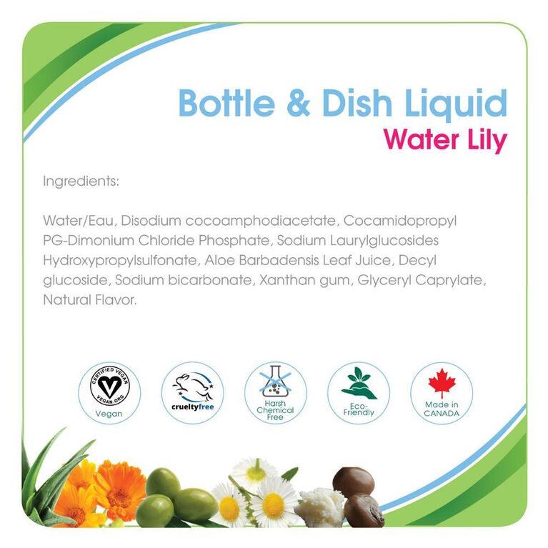 Aleva Naturals Liquide Pour Biberons et Vaisselle - Nénuphar - 100ml.