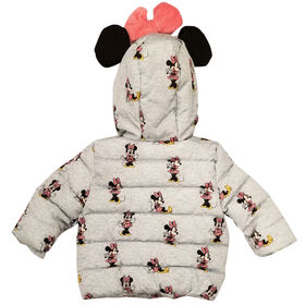 Baby Girl Minnie Mouse Puffer Jacket 12 Months