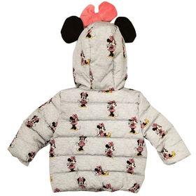 Veste puffer Minnie Mouse pour bébé fille 12 mois