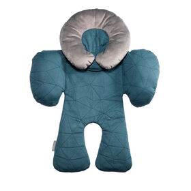 JJ Cole Car Seat Reversible Body Support - Teal Fractal