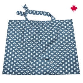 Perlimpinpin - Nursing Cover - Navy Diamonds
