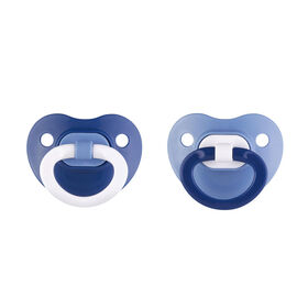 NUK Orthodontic Pacifier, 6-18 Months, 2 Pack, Assorted Colors