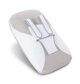 Babocush Coussine Confort pour Nouveau-né - Gris/Blanc.