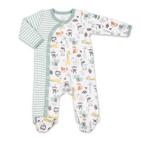 Koala Baby Sleeper - Retro Animal Allover Print, 3-6 Months