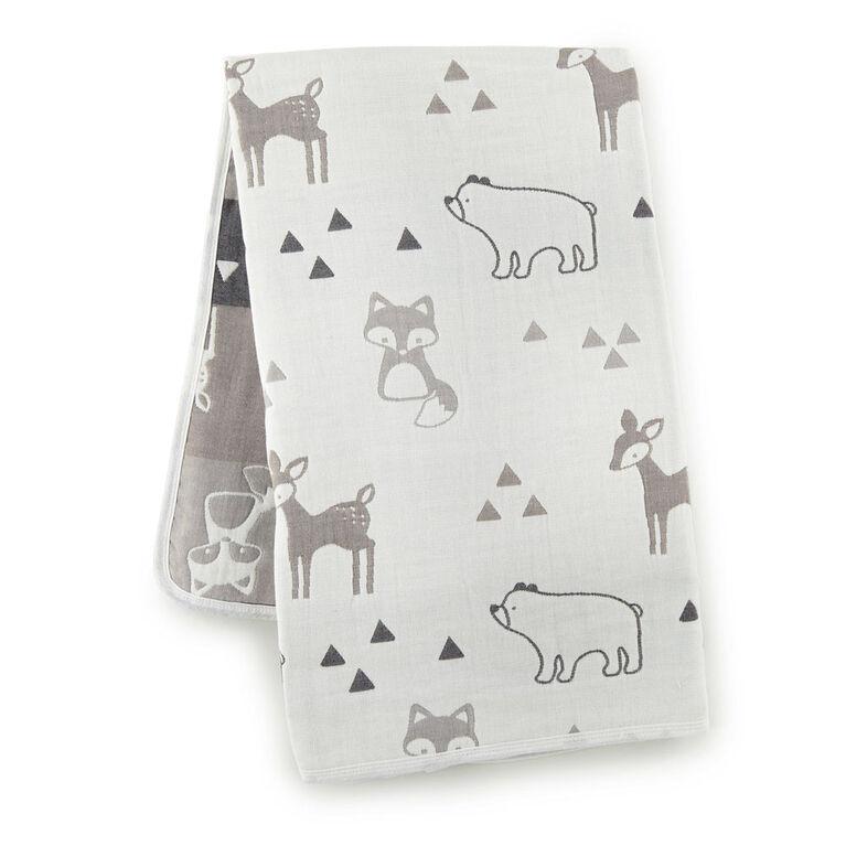 Levtex Baby - Bailey Muslin Blanket - English Edition