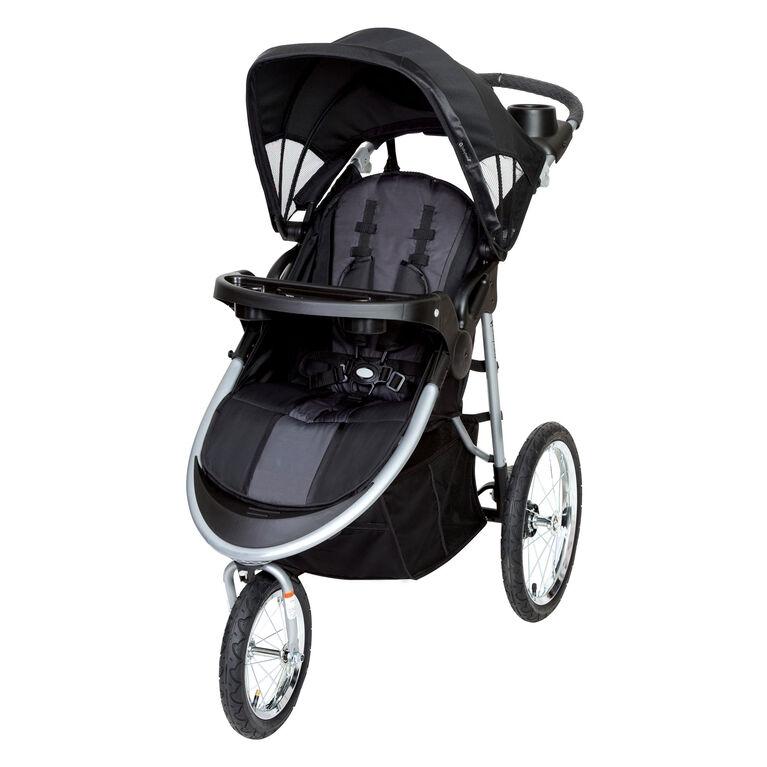 Baby Trend - Poussette de jogging Cityscape - Ardoise noire - Notre exclusivité