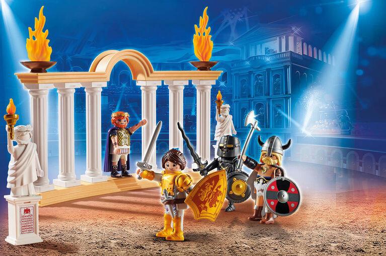 Playmobil - Empereur Maximus et Colisée