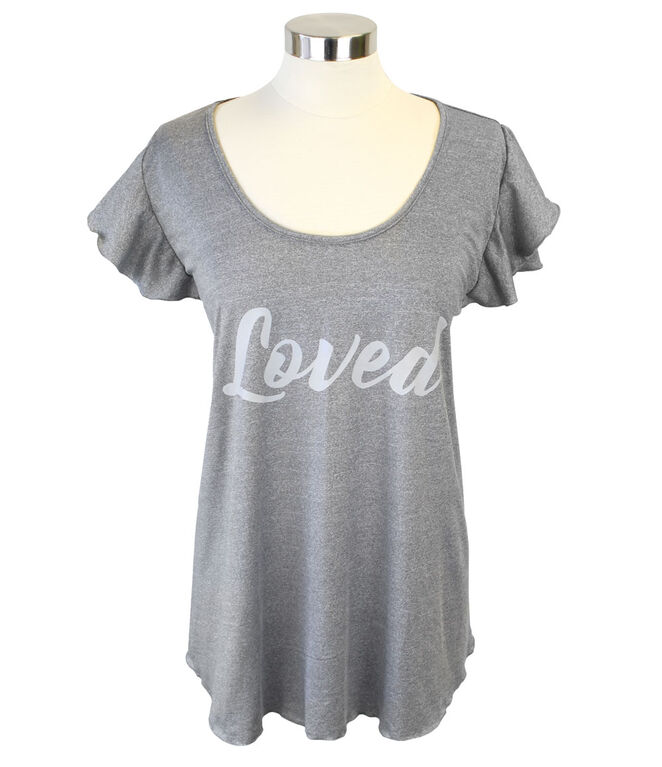 Itzy Ritzy - Nursing Tee Cover -Loved.