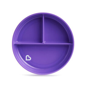 Stay Put Suction Plate - Purple