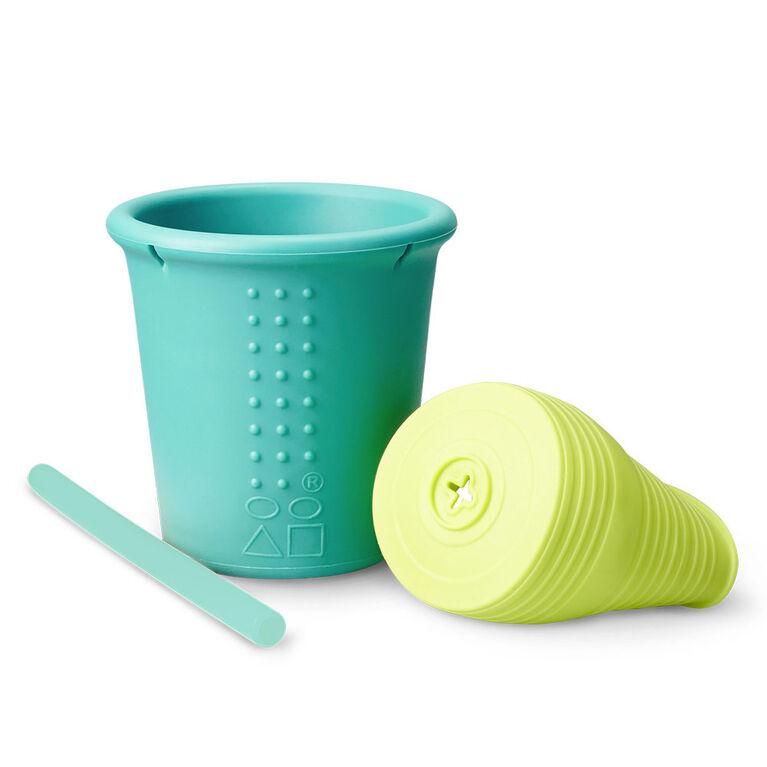 Universal Straw Cup 8Oz 1 Pack , Fresh Sea