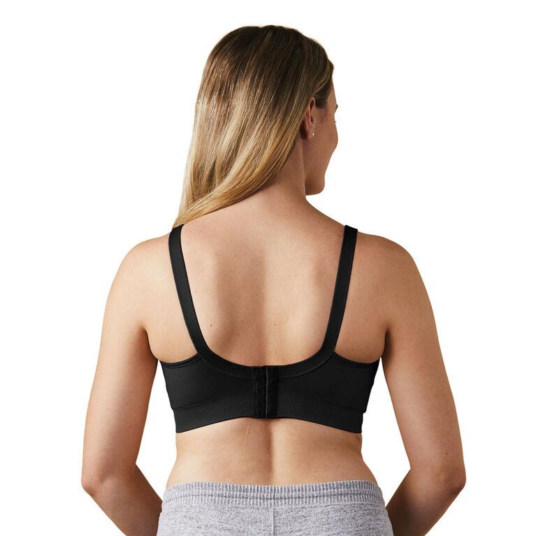 Bravado Designs Body Silk Seamless Nursing bra - Black, Medium