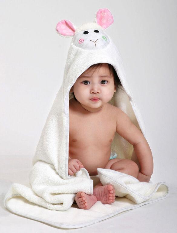 Serviette bébé Zoocchini - Lola l'agneau.