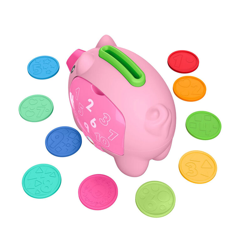 Laugh & Learn Count & Rumble Piggy Bank - Bilingual Edition
