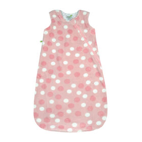 Perlimpinpin plush sleep bag - Polka dot, 0-6 Months