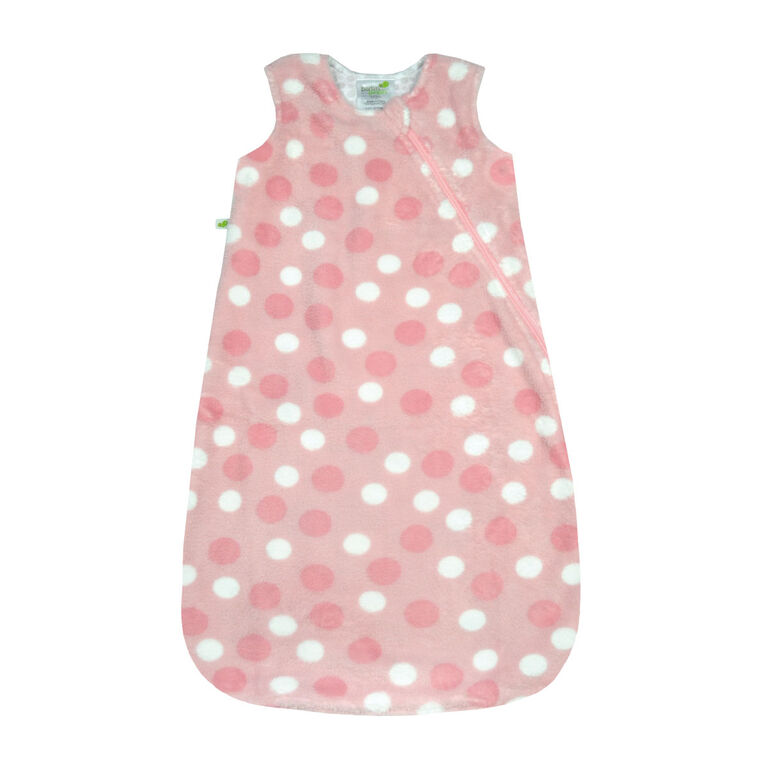Perlimpinpin plush sleep bag - Polka dot, 18-36 Months