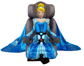 KidsEmbrace Disney Cinderella Platinum Combination Harness Booster Car Seat